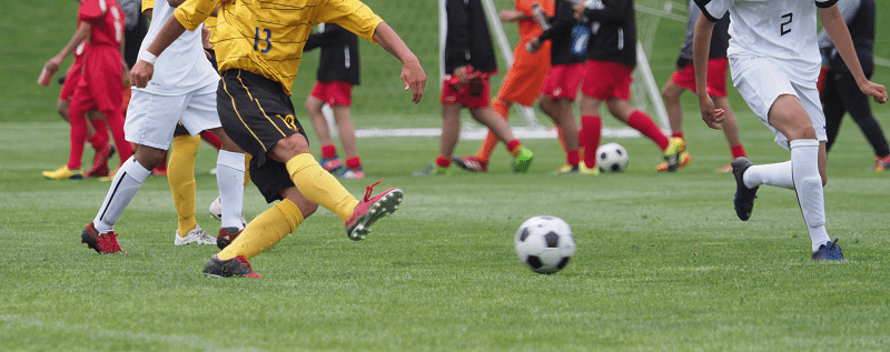 習い事-サッカー-シュート