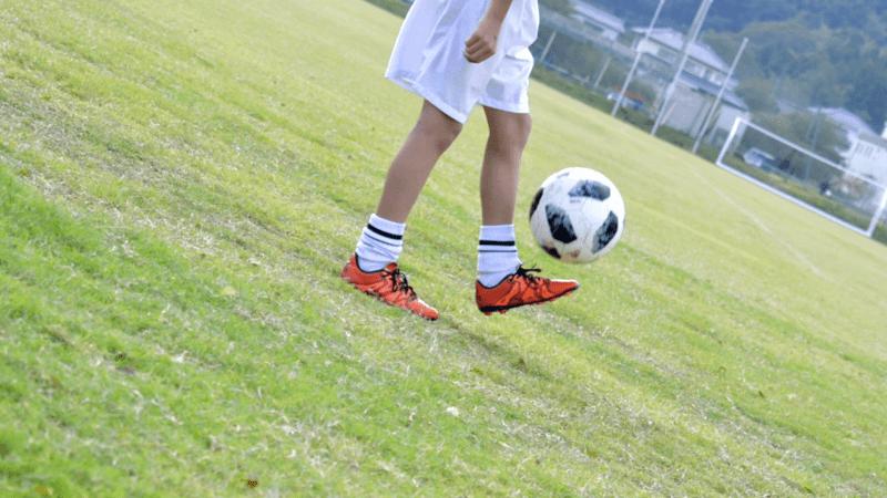習い事-サッカー-リフティング