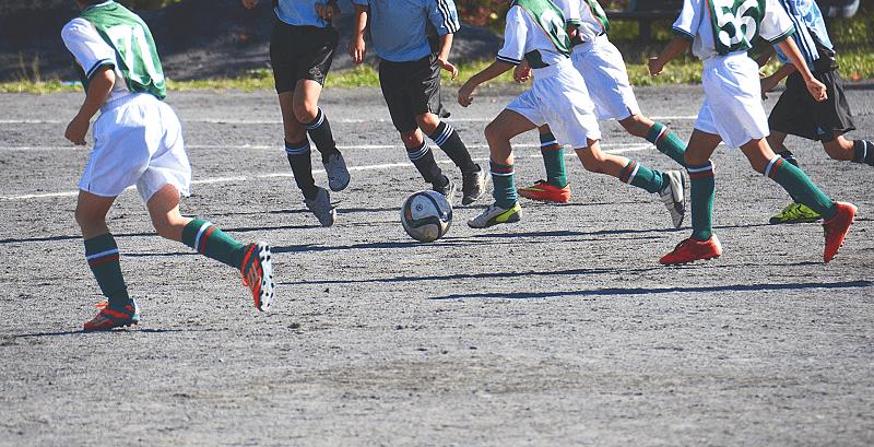 習い事-サッカー-蹴るだけ