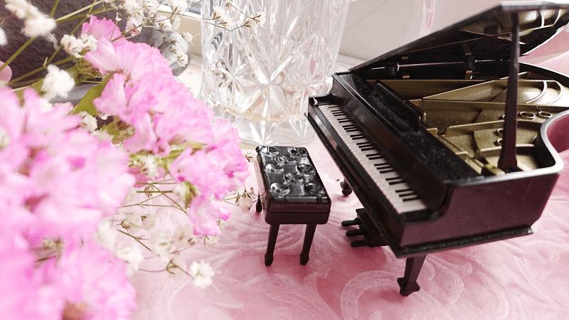 習い事-ピアノ-花