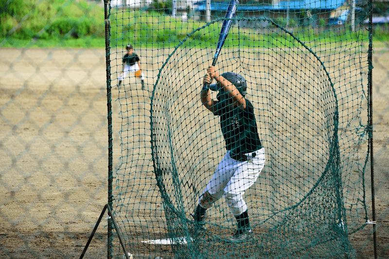 習い事-野球-バッティング-練習