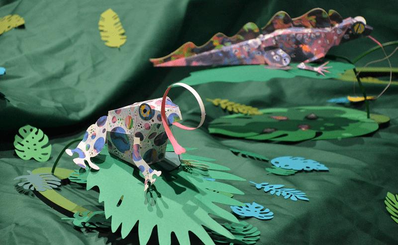 あかりの日-光のジャングル