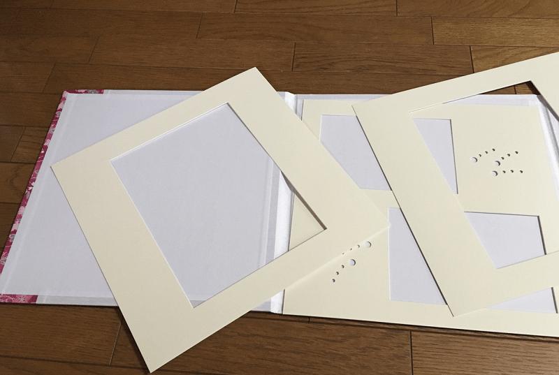 七五三-写真台紙-内部-空